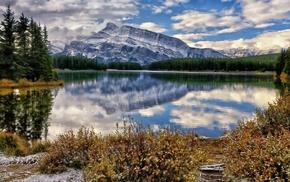 банф, mount rundle, canada, канада, природа, banff national park