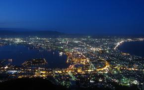 night, lights, cities, city