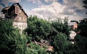 houses, stunner, plants, nature