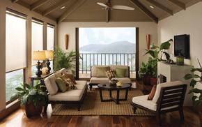 villa, design, interior, house, style