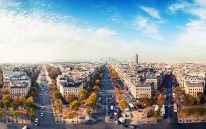 houses, city, autumn, cities, France