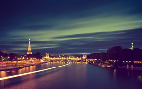 Paris, France, river, cities, city