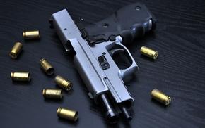 оружие, Пистолет, гильзы
