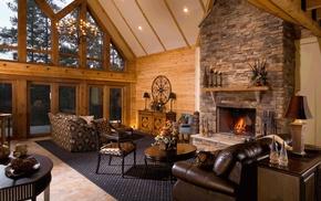 villa, house, design, style, interior