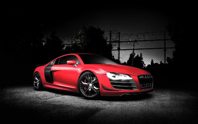 automobile, sportcar, tuning, Audi, cars