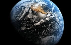 планета, Земля, earth, материки, америка, тихий океан