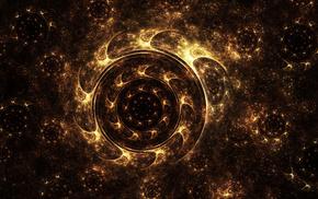 circle, art, 3D