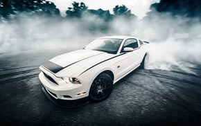 cars, road, sportcar, speed, white