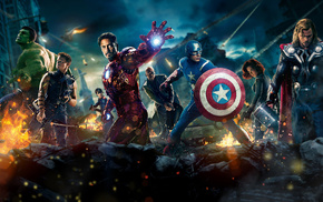 Iron Man, Thor, movies, The Avengers, heroes
