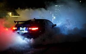 BMW, cars, m3, view, blue