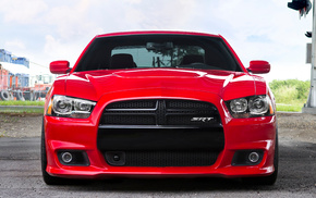 cars, auto, red, tuning, Dodge