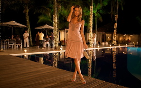 dress, girls, swimming pool, style