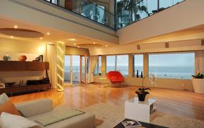 villa, interior, design, style