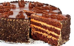 Торт, десерт, крем, вкусно