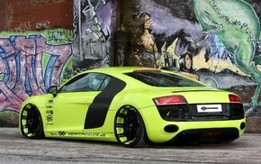 cars, Audi, green, supercar