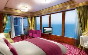 interior, villa, house, style, design