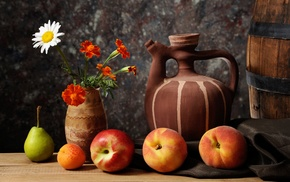 fruits, delicious, vase