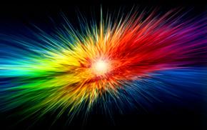 colors, rainbow, stunner