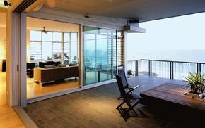 villa, house, interior, style, design