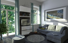 house, interior, style, design