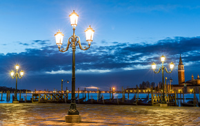 cities, evening, Italy