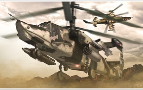 aircraft, helicopter