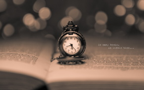 inscription, book, clocks, stunner