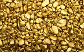 stones, gold