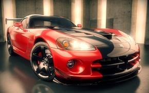 3D, cars, render