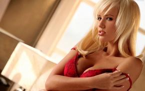 boobs, blonde, girls