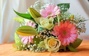 flowers, bouquet, flower, rose