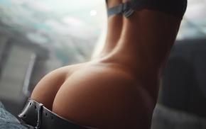 girl, girls, beautiful girl, thong, booty