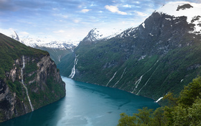 Норвегия, природа, гейрангер-фьорд, norway, река, geirangerfjorden