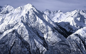 snow, nature, mountain