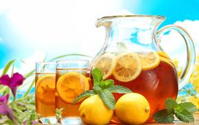 tea, delicious, table