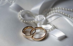 holiday, rings, white