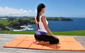 melisa, девушки, mendini, yoga