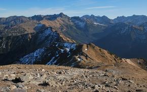 гряда, только горы, лучше гор, снег, горы, природа