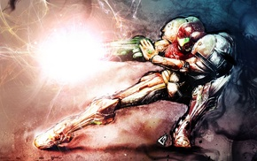 Super Metroid, video games, Samus Aran, Metroid