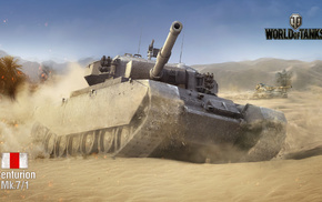 video games, desert, tank