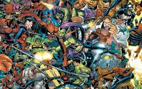 Dr. Octopus, Green Goblin, Shocker, Spider, Man, Rhino character