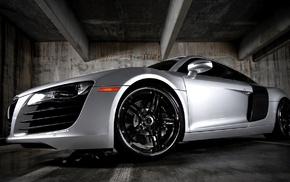 garage, wheels, Audi, cars