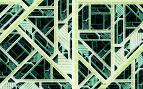 pattern, green, abstract