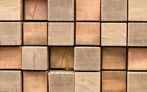 wood, pattern, cube