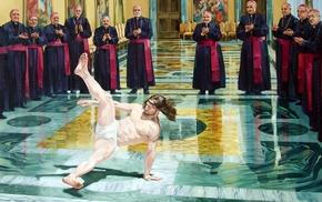religions, Jesus Christ, humor, breakdance