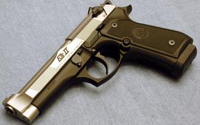 pistol, gun