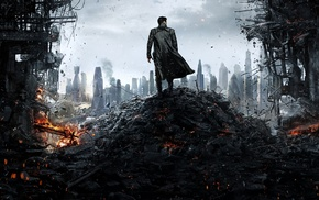 Star Trek, Star Trek Into Darkness, Benedict Cumberbatch, London, destruction, Khan