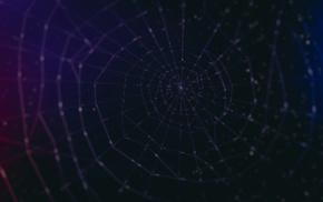 bokeh, spiderwebs, water drops, pattern