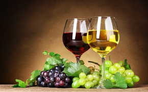 leaves, berries, delicious, grapes, wine