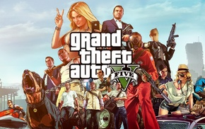 Grand Theft Auto V, video games